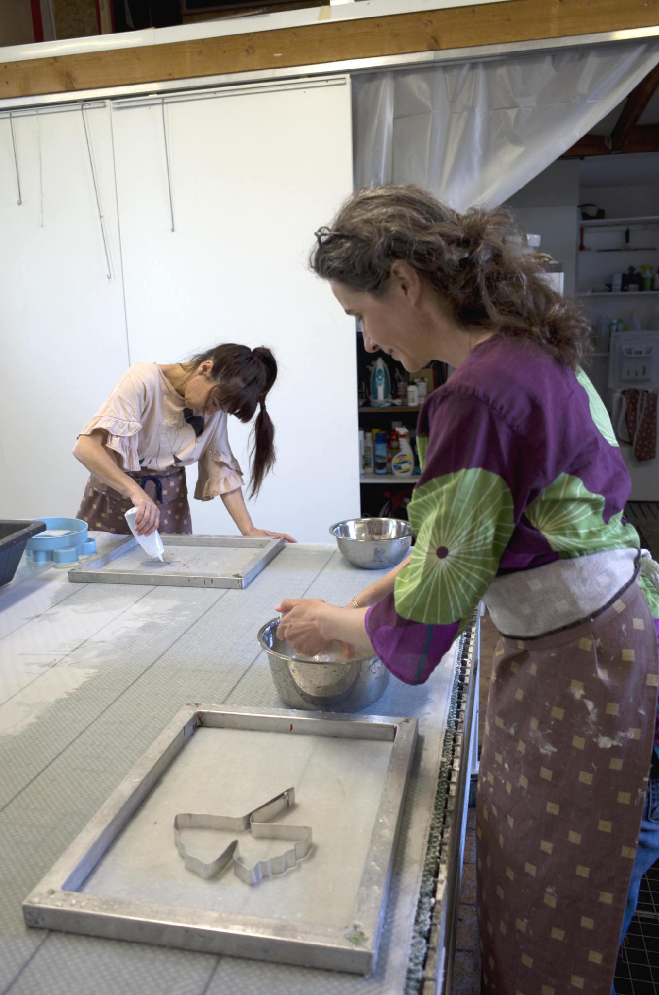 Stage fabrication de papier niveau 2
